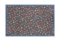 Turtle Mat Lume Range - Dirt Trapper - Grey Dots - Multi-Grip - 50x75cm