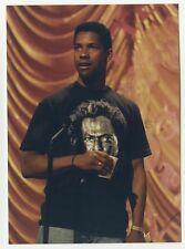 Denzel Washington - Candid Photograph by Peter Warrack - Previously Unpublished
