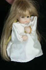Abby Dolls Originals Little Girl Angel Holiday Christmas Ornament Sandy Claus