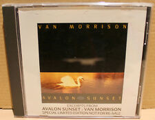 POLYDOR PROMO CD AST1: Van Morrison ‎– Excerpts From Avalon Sunset - 1989 UK