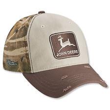 JOHN DEERE *1968 Trademark Logo* REALTREE CAMO Max-4 HAT CAP *BRAND NEW w/Tag!*