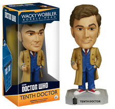 "Doctor Who Tenth Doctor 6"" WACKY WOBBLER FIGURA DE VINILO bobble-head Funko"