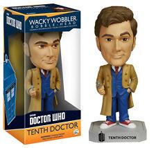 """Doctor WHO DECIMO DOTTORE 6 """"Wacky Wobbler VINILE FIGURA Bobble-Head Funko"""