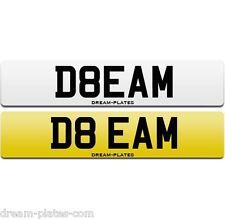 DREAM number plate D8 EAM suit Ferrari 458 488 McLaren 675LT 650 Spider P1