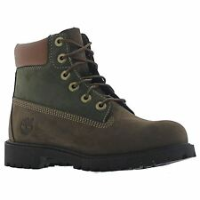 Timberland Classic 6 inch Premium Waterproof Big Kids Youth Leather Boots