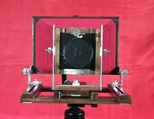 4x10 Large Format Camera (Red bellows) (Excluding lens and lens board)