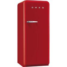 smeg fab28qr1 50u0027s style fridge in red right hand hinge new