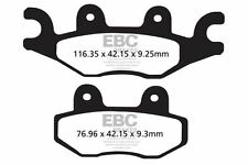 FIT PGO  500 Bug 08>09 EBC FRONT ORGANIC BRAKE PADS