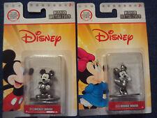Disney Nano Black White Metalfigs MICKEY & MINNIE MOUSE