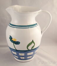 "Caleca ARIOSO Pitcher 64 oz H to Sp: 7 1/2"" Ht: 9 1/2"" EXCELLENT"