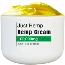 Extra Strength Hemp Pain Relief Cream 100,000mg Hemp Oil ~ Lav Scent ~ 5oz Jar