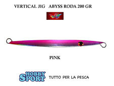 VERTICAL JIG MILO ABYSS MODELLO RODA 200  GR COL PINK CM 23