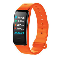 IP67 Smart Bracelet Fitness T-racker Watch Heart Rate Step Counter Calorie Q9B4