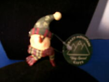 Christmas Pin Snowman with Blue Hat Retired By Crazy Mountain Inc 3