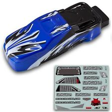 Redcat Racing Earthquake 1/8 Truck Body Blue and Black Body Part BS904-013B