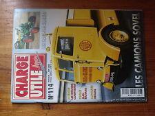 $$w Revue Charge Utile magazine N°114 Camions Sovel  Tracteurs Allgaier  Richard