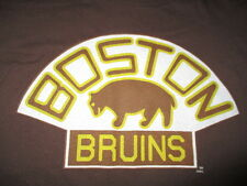 Retro Sport BOSTON BRUINS BEAR Logo (LG) T-Shirt BROWN
