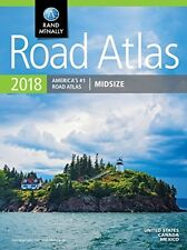 Rand McNally 2018 Road North American Atlas Easy Read Map Canada US