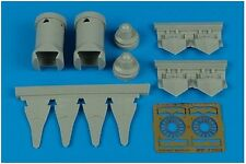 Aires 1/72 F/A-22 Raptor Exhaust Buses for Hobby boss kit # 7250