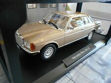 MERCEDES BENZ 280CE 280 CE Coupe W123 C123 champagner met. 1980 Norev 1:18