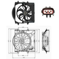 Dual Rad & Cond Fan Assembly Fits: 2004 Jeep Grand Cherokee 4.0L W/O Towing