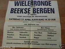 78-BEEKSE BERGEN WIELERRONDE TILBURG 1970, OLOF RACES