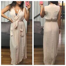 BARDOT Cream Collared Maxi Dress Size 14
