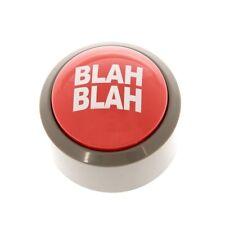 Novelty Blah Blah Blah Button Desk Buzzer 5 Phrase Office Prank Light Up Joke