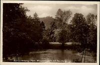 Bad Lauterberg im Harz Ansichtskarte ~1930 Partie im Wissmanns Park mit Hausberg