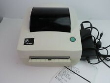 Zebra Lp2844 Thermal Shipping Label Printer Power Cord Serial Parallel Amp Usb