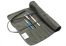 Multifunction Pencil Bag Roll Up Thick Canvas Wrap Pouch 11 Holder Case Storage