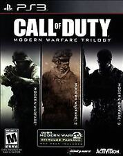 Call of Duty: Modern Warfare Trilogy (PlayStation 3, PS3) Brand New~SEALED