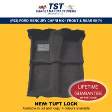 MOULDED CAR CARPET (F02) FORD MERCURY CAPRI MK1 FRONT & REAR 69-74