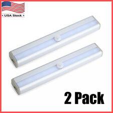 2 Pack 10 LED Motion Sensor Light Wireless Night Cabinet...