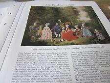 Archivio Francoforte a 6 ritratti 3019 famiglia Gogel HOFFSTADT 1776 J D Bager