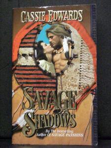 Savage Shadows  book Savage By Cassie Edwards
