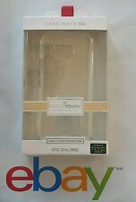 NEW CASE MATE NAKED TOUGH CASE FOR HTC ONE M9 CLEAR SUPM44641 DUAL LAYER PROTECT