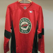 NHL Minnesota Wild Hockey Jersey New Mens X-LARGE