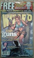 WIZARD COMICS MAGAZINE #101 February 2000 Sealed, Tomb Raider cover