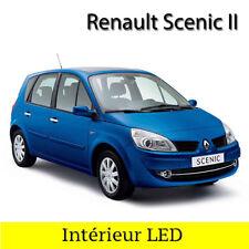 Kit complet éclairage intérieur ampoules à LED  Blanc pour Renault Scenic 2