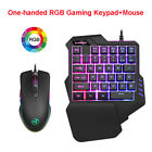 Wired RGB Backlight Recording Gaming Keypad with Mouse for Android WinXP Vista