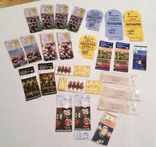 Notre Dame Football Lot 25 Ticket Stubs Press Pass 1985, 86, 99, 2000-01, 03, 04