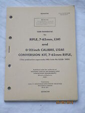 Manuale: Rifle 7,62mm, l1a1, SLR, inglese FN fucile, revised 1977