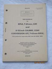 Handbuch: Rifle 7,62mm, L1A1 , SLR, englisches FN Gewehr,Revised 1977