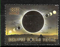 CHILE  2019 SPACE ASTRONOMY SUN ECLIPSE CHILE-ARGENTINA MNH