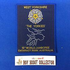 "Boy Scout World Jamboree Australia 1987-88 West Yorkshire ""The Yorkies"" Patch"