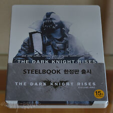 THE DARK KNIGHT RISES [Blu-ray] 2-DISC White (STEELBOOK) SET~Limited/ (Region A)