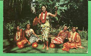 Hawaii Carte Postale - 1955 Hula Dancers Cachet Lihue Hi Pour Portland Ou -S8262