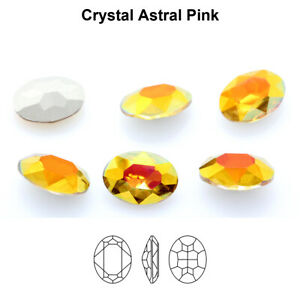 Genuine AURORA A4120 Oval Fancy Stones Crystals * Different Colors & Sizes