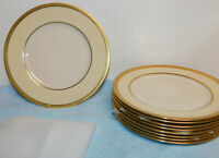 """9 Lenox Springfield Dinner Plates 10.5"""" Excellent Cond."""